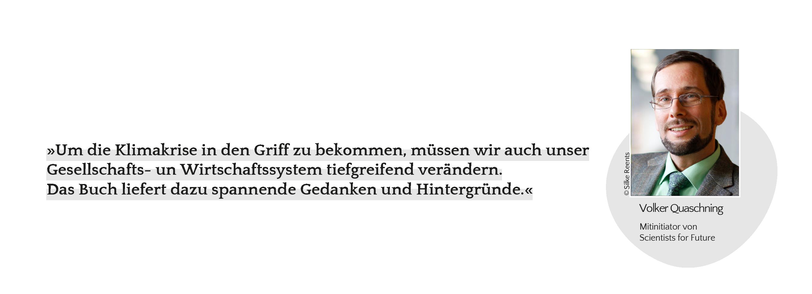 Statement_Volker Quaschning